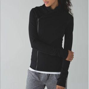 Lululemon Black Bhakti Yoga Jacket, sz 6